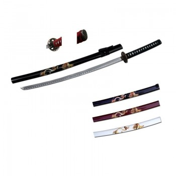 Katana Black Dragon - 1