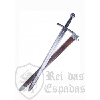 Functional Medieval sword with sheath