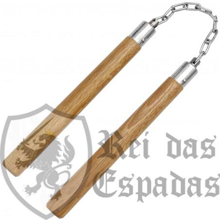 Nunchaku en madera