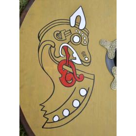 Viking shield wood - 4