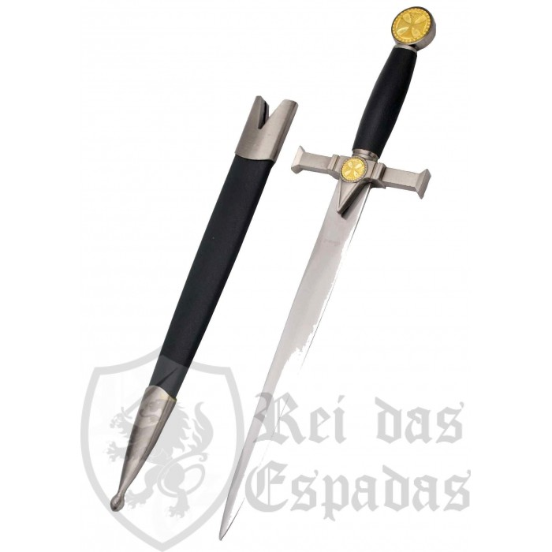 Daga Caballeros Templarios con vaina - 2