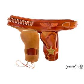Étui de shérif pour 2 revolvers - 2