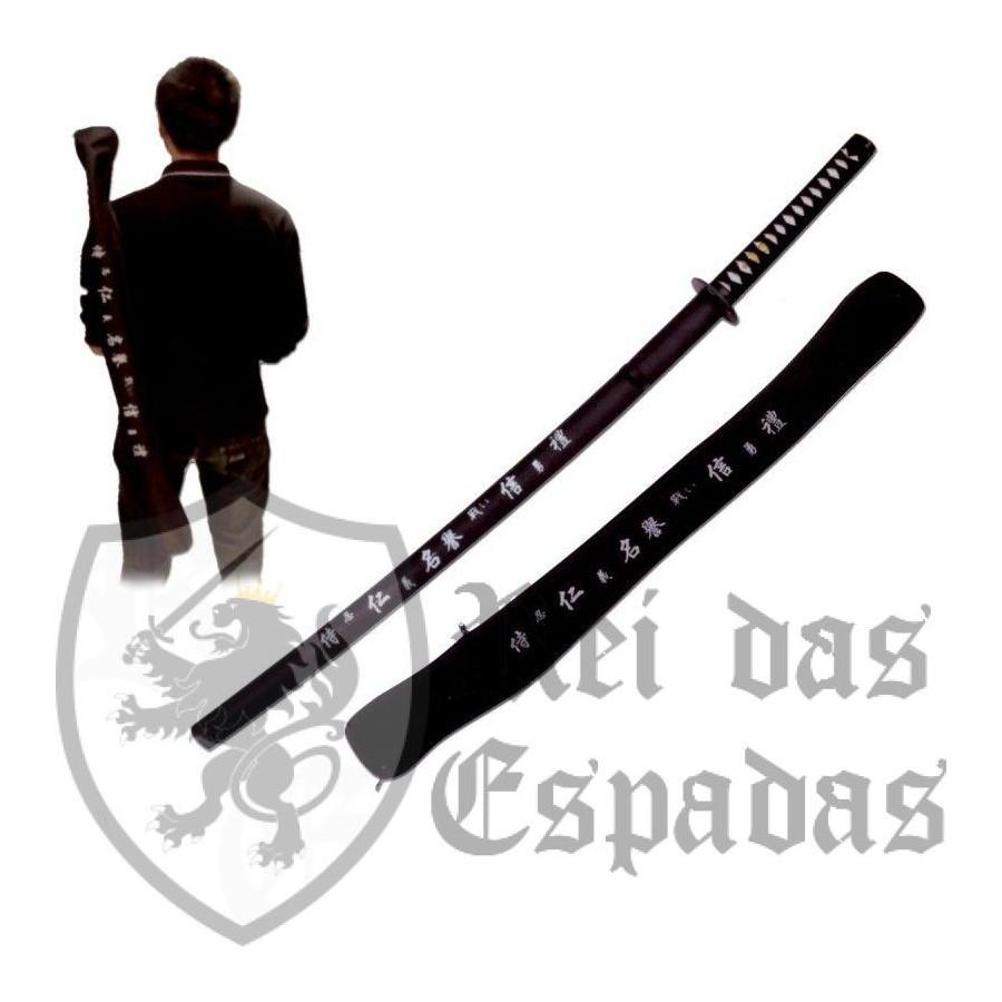 Samurai negro Katana - 1