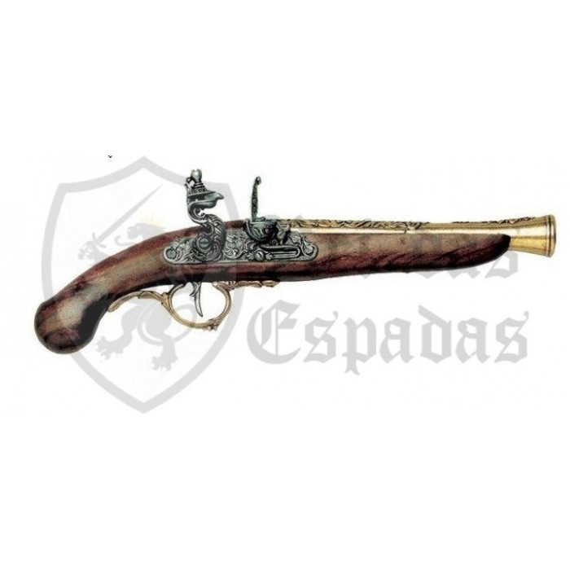 Pistola Alemã, do século XVII,model3 - 1