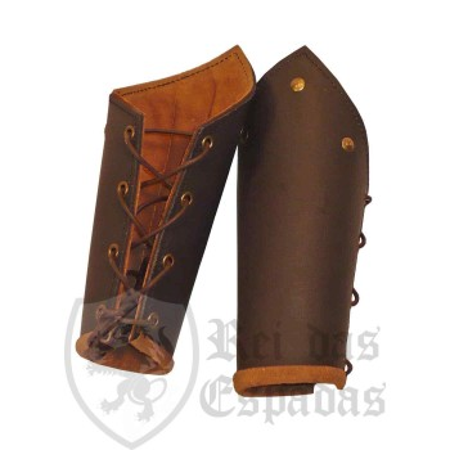 RFB Bracers, leather, pair