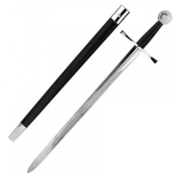 Espada de Combate Medieval en acero EN-45