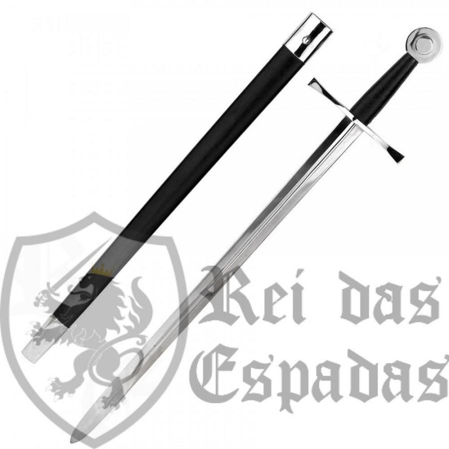 Medieval combat sword EN45 steel