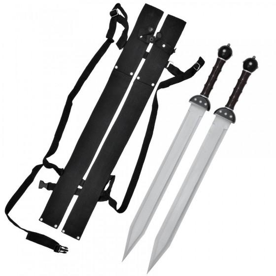 Par de espadas Gladius de Combate