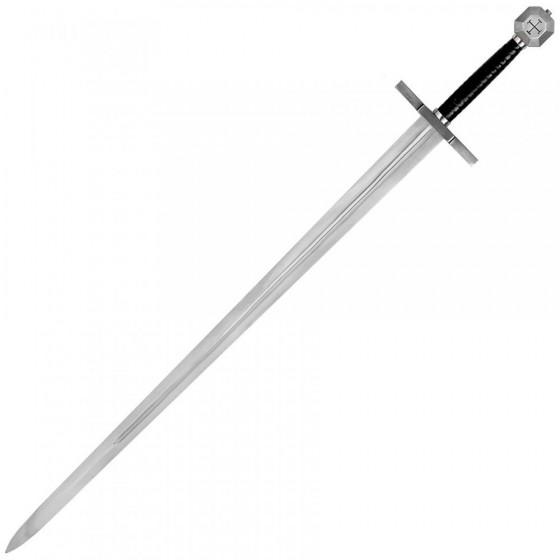 Espada de combate Templaria, por John Barnett
