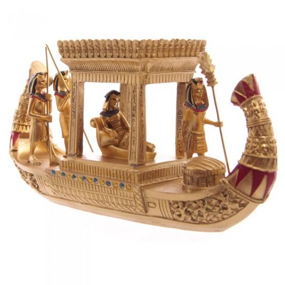 Barco Egipto Dourado