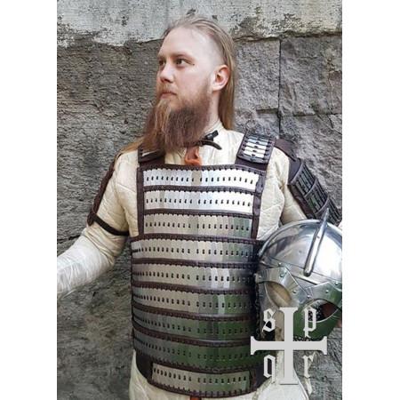 Birka Type Lamellar Armour, Steel and Leather