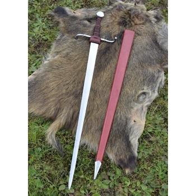 15th-century hand sword and a half, blunt practice - 7