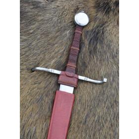 15th-century hand sword and a half, blunt practice - 8