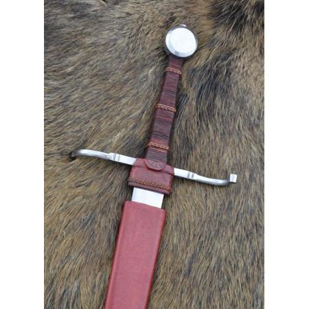 15th-century hand sword and a half, blunt practice