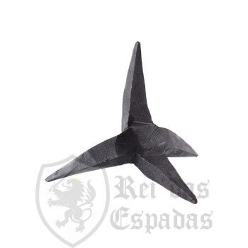 Caltrop, hand forged in steel