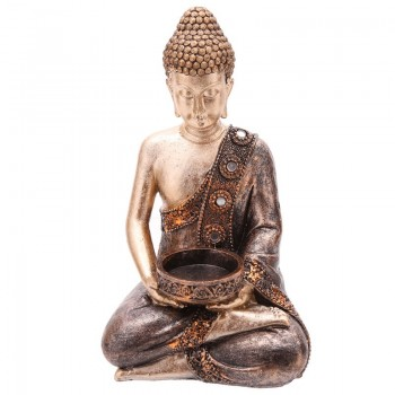 Suporte de vela de Buda