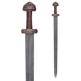 Espada Vikinga con vaina, Acero Damasco