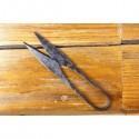 Tesoura medieval em aço forjado à mão - 2