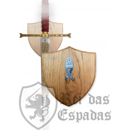 Expositor de pared en madera