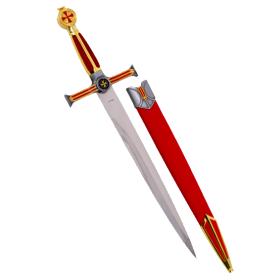 Daga Templarios con vaina