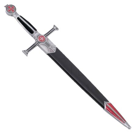 Medieval dagger with sheath
