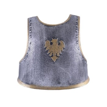 Children Knight's Breast Plate with Back Straps, Plastic