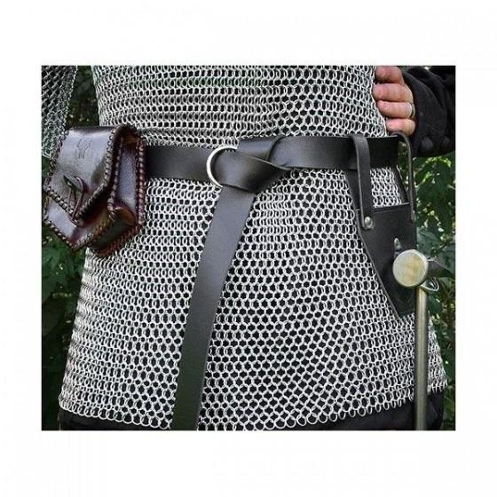 Cinturón cuero para espada