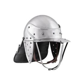 Lobster-tailed pot helmet, 17. Century