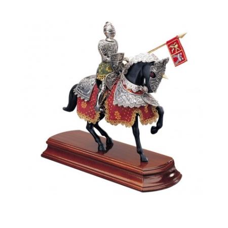 Caballero Español con caballo 35 cm