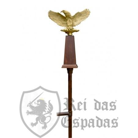 Aquila - Águila legionaria romana estándar con eje de madera