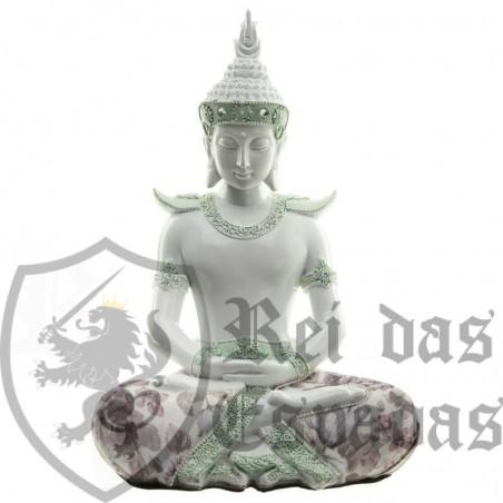 Buda Branco - Sabedoria Tailandesa