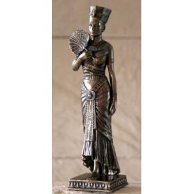 Figura egipcia con abanico - 1