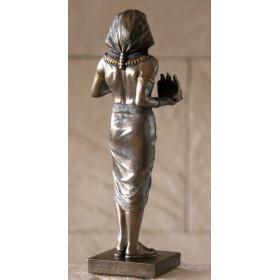 Figura Faraó com Triada - 2
