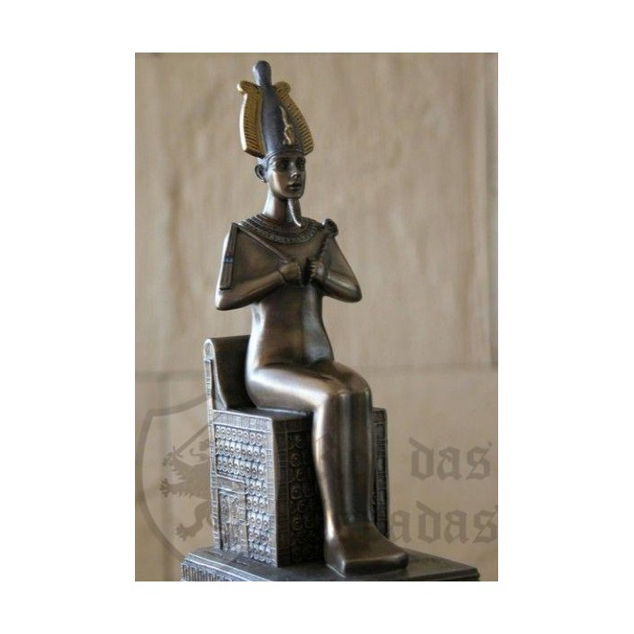 Osiris sedente