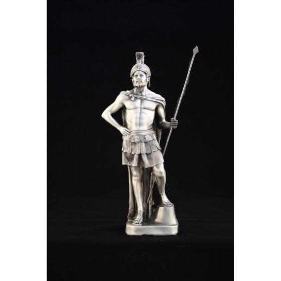 Gladiador Romano com banho em metal