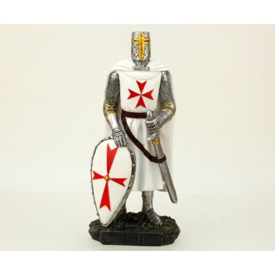 Cavaleiro Templário, em resina