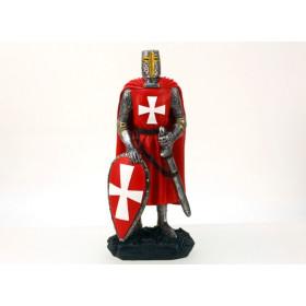 Figura Cavaleiro Templário, em resina de alta qualidade - 1