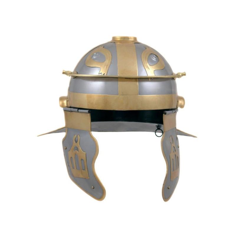 Capacete do Império Itálico com gravuras - 3