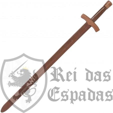 Medieval sword wood
