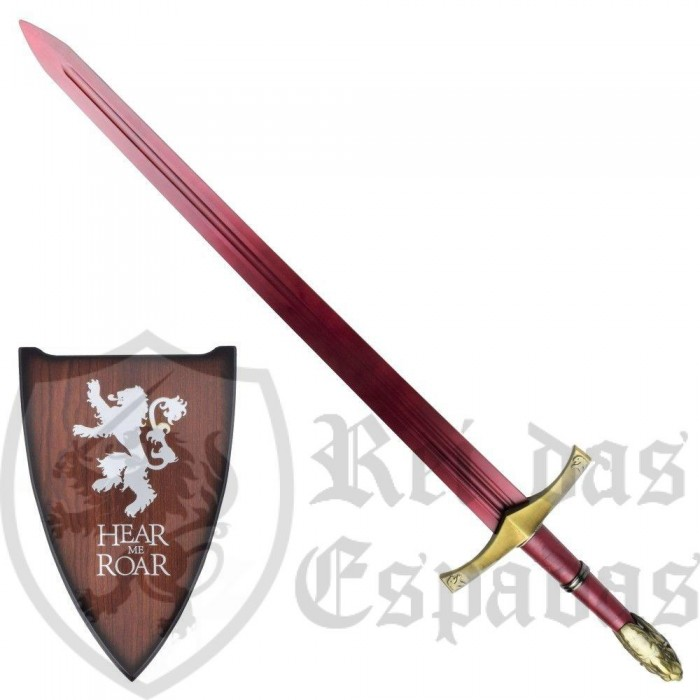 Oathkeeper Sword, Game of Thrones with support - 3
