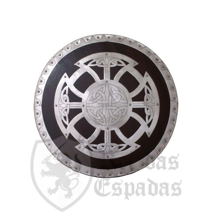 Wooden and steel Viking shell - 3