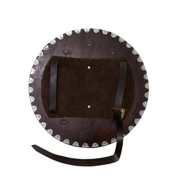 Wooden and steel Viking shell - 4