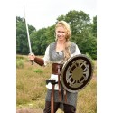 Wooden and steel Viking shell - 6