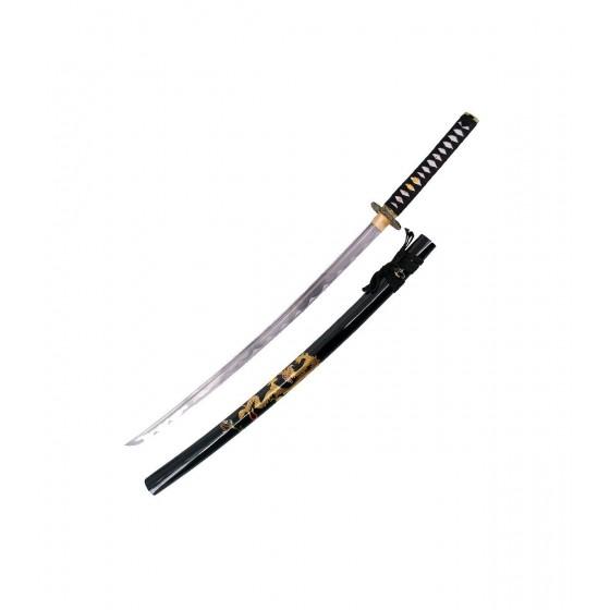 Kit Katana Functional Blade AISI 1045 with box - 6