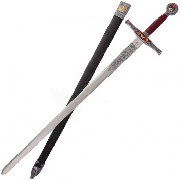Sword Excalibur with Scabbard, King Arthur - 4