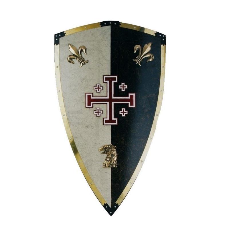 Escudo Templários Jesuralem - 5