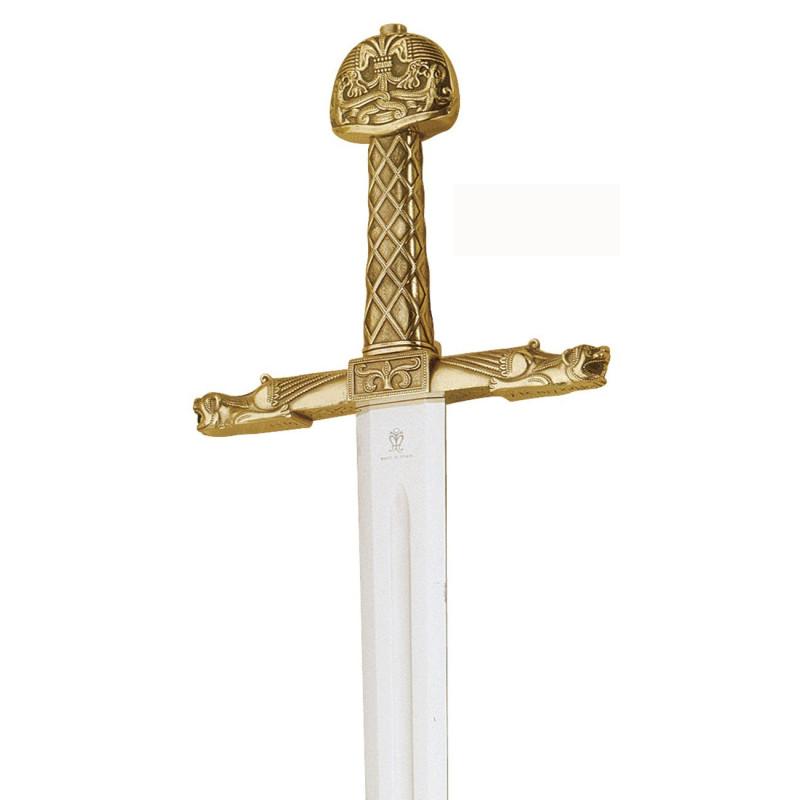 Espada de bronce de Carlomagno - 5