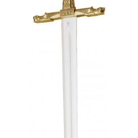 Espada de bronce de Carlomagno - 6