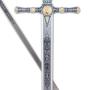 Espada Masónica Plata - Esmalte Azul - 3