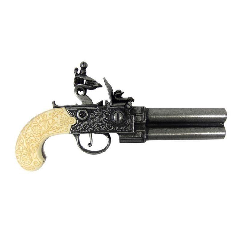 Pistola de chispa, UK siglo XVIII - 2
